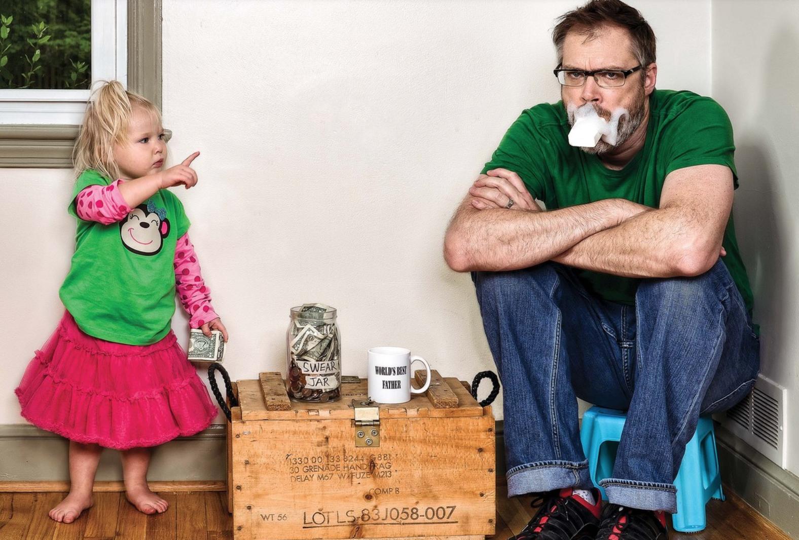 imágenes de un padre con su hija